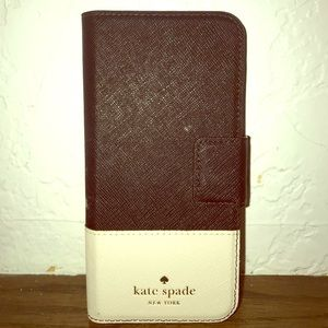 Kate spade leather iPhone case